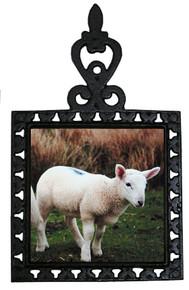 Lamb Iron Trivet