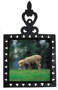 Sheep Iron Trivet