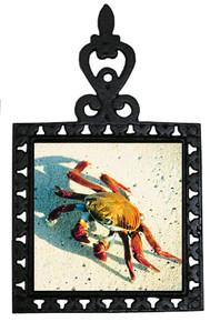 Crab Iron Trivet