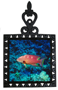 Grouper Iron Trivet