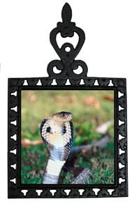 Cobra Snake Iron Trivet