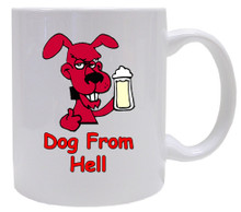 Dog From Hell: Mug