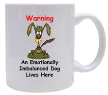 Emotionally Imbalanced Dog: Mug