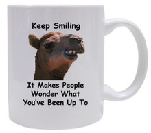 Keep Smiling: Mug