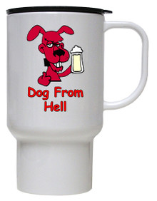 Dog From Hell: Travel Mug