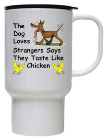Tastes Like Chicken: Travel Mug