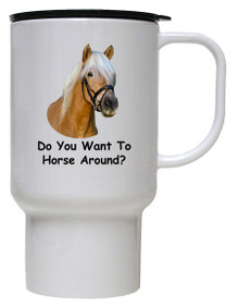 Horse Around: Travel Mug