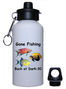 Gone Fishing: Water Bottle