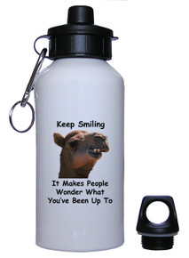 Keep Smiling: Water Bottle