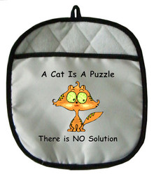 Cat Is A Puzzle: Pot Holder