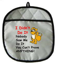 Dog Didn't Do It: Pot Holder