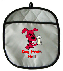 Dog From Hell: Pot Holder