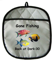 Gone Fishing: Pot Holder