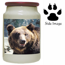 Bear Canister Jar