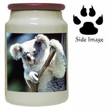 Koala Bear Canister Jar
