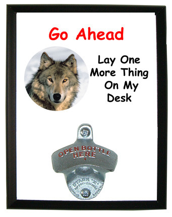 Lay One More Thing On My Desk: Bottle Opener