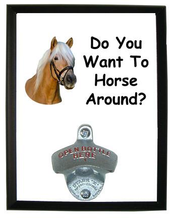 Horse Around: Bottle Opener