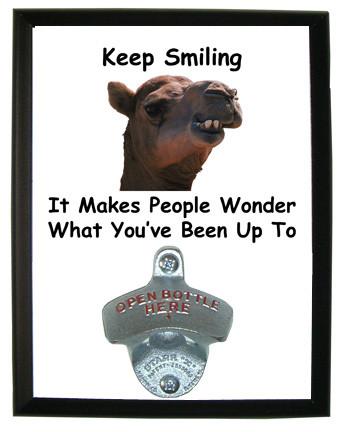 Keep Smiling: Bottle Opener