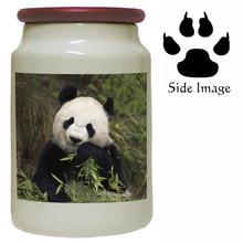 Panda Bear Canister Jar