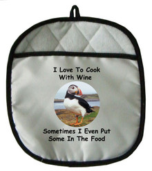 Cook With Wine: Pot Holder