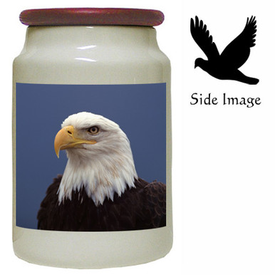 Eagle Canister Jar