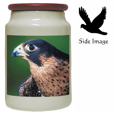 Falcon Canister Jar