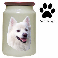 American Eskimo Dog Canister Jar