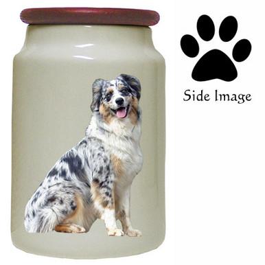 Australian Shepherd Canister Jar