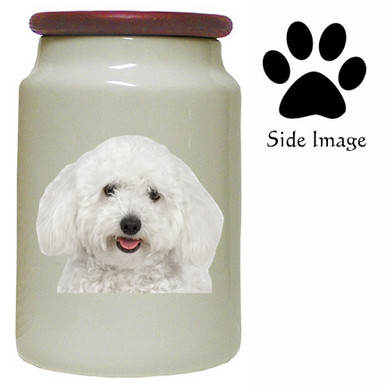 Bichon Canister Jar