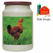 Chicken Canister Jar