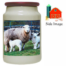 Lamb Canister Jar