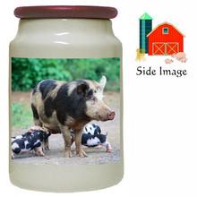 Pig Canister Jar