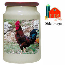 Rooster Canister Jar