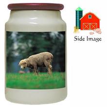 Sheep Canister Jar