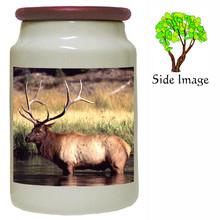 Elk Canister Jar