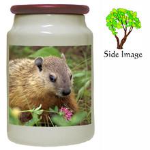 Groundhog Canister Jar