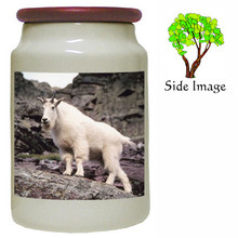 Mountain Goat Canister Jar