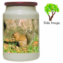 Squirrel Canister Jar