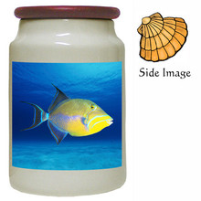 Triggerfish Canister Jar