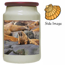 Walrus Canister Jar
