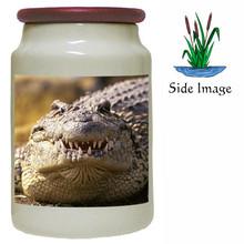 Alligator Canister Jar