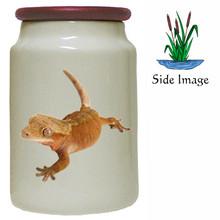 Gecko Canister Jar