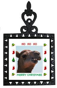 Camel Christmas Trivet