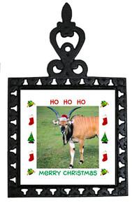 Eland Christmas Trivet