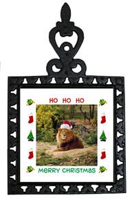 Lion Christmas Trivet