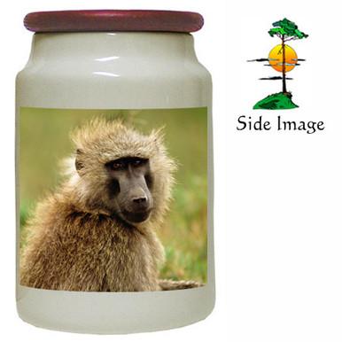Baboon Canister Jar