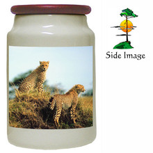 Cheetah Canister Jar