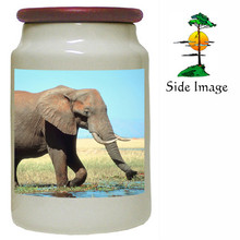 Elephant Canister Jar