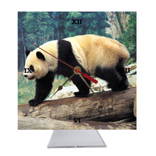 Panda Bear Desk Clock