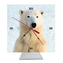Polar Bear Desk Clock